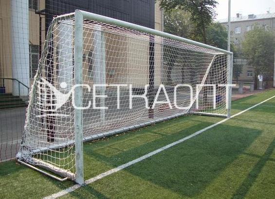 Как связать сетку для футбольных ворот своими руками