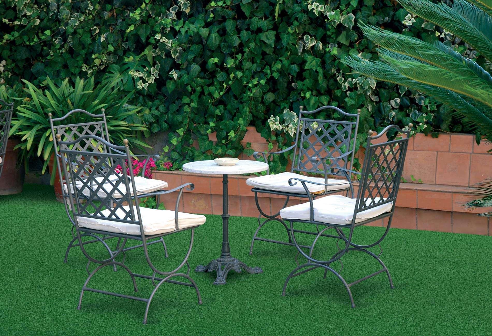 Искусственная трава декоративная ГринФилд 8мм.