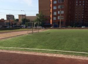 Искусственная трава для футбола 50мм. bicolor Image 1
